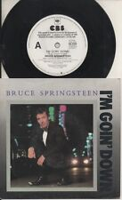 """BRUCE SPRINGSTEEN   Rare 1984 Aust Promo Only 7"""" OOP P/C Single """"I'm Goin' Down"""""""