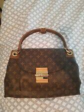 Louis Vuitton Olympe Women Shoulder Bag Purse Havane Monogram M40925