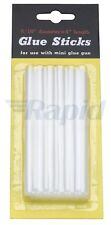 RVFM 8mm x 100mm Low Temperature Natural Hot Melt Glue Sticks Pack of 12
