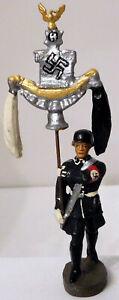 Elastolin German Leibstandarte Soldier #2