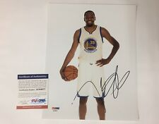 KEVIN DURANT Signed Autographed 8x10 Photo GOLDEN STATE WARRIORS PSA