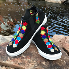 Mexican shoes  hand embroidered from Chiapas Mexico