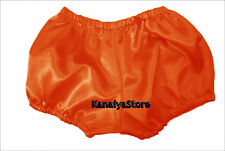 Orange Satin Pants Pantaloons India Maid Sissy Adult Baby Fits With Underwear