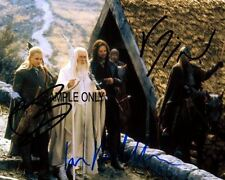"""Lord Ofthe Rings Signed Action Photo """"Travelers""""! #2035"""