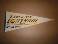 CBA Lancaster Lightning Vintage 1982 CBA Champs Pennant