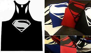 Bodybuilding Gym Racerback Stringer Vest Low Scoop Muscle Fit Aesthetic Fit