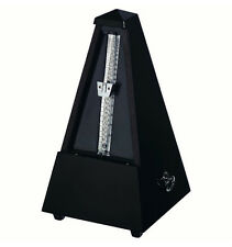 Wittner Plastic Key Wound Metronome - Black New - with Free Extended Warranty