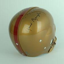 1952 RT Suspension Football Helmet Signed Sammy Baugh Autographed