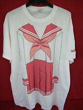 Konata Izumi Lucky Star Shirt XL Tsukasa Japan Manga Anime School Girl COSPLAY