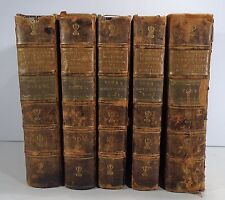 FRENCH REVOLUTION Francaise 1801 GIRARDIN Set FIVE QUARTO LEATHER VOLS