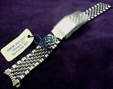 "New old Stock w/ Tag~Seiko ""Beads of Rice"" 18mm Stainless Watch Band AC001M"