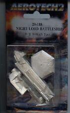 Battletech Aerotech 2 Night Lord Battleship MINT Iron Wind Metals