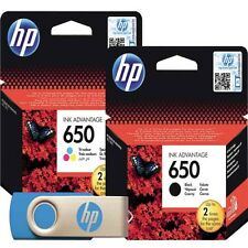 HP 650 Black and color Original Deskjet Cartridge CZ101AE HP 1015 2545 2515 3515