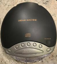 Sony Dream Machine CD Clock Radio ICF-CP853V Mega Bass Works Great AM FM Weather