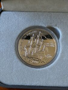 1987 1 oz Palladium Bermuda $25 Coin - Sea Venture