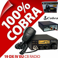 Cobra 19 DXIV EU/GB Radio CB 40 Canal AM FM Norme Européenne Multi Standard