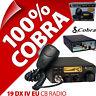 Cobra 19 DXIV EU/UK CB Radio 40 Channel AM FM European Standard Multi Standard