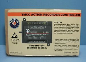 Lionel 6-14181 TMCC Action Recorder Controller - ARC   NEW OLD STOCK!!!