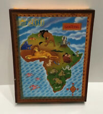 """Disney The Lion King Golden 200 Piece Jigsaw Puzzle 14 x 18"""" Africa New Sealed"""