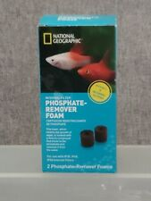 National Geographic Phosphate Remover Foams Fish Aquarium IF30, IF40, IF50