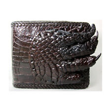PKK GENUINE CROCODILE Leather Crocodile Paw Men's Wallet Purse USAM04-PL Kango