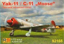 "RS Models 1/72 Yakovlev Yak-11 / C-11 ""Moose"" # 92168"