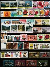 Machine Cancel Postage New Zealand Stamps