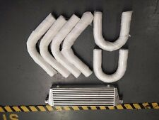 550x140x65 mm intercooler aluminium pipings silicone kit 2.25 inch 57mm 2.25