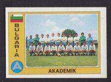 Panini - Euro Football 76/77 - # 19 Akademik - Bulgaria