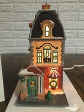Dept 56 Christmas in the City Haberdashery Mint W/ Box Christmas Village 55310