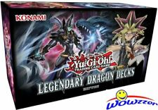 Yu-Gi-Oh! Trading Card Game- Yugioh Legendary Dragon Decks Box-FREE USA SHIPPING