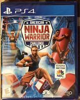 PS4 AMERICAN NINJA WARRIOR CHALLENGE (Sony PlayStation 4) Brand New Sealed