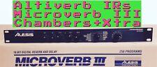 Alesis Microverb III * CHAMBERS *+FREE XTRA  ALTIVERB IRs (Midiverb,Quadraverb)
