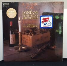 """Jethro Tull IAN ANDERSON London Symphony """"A Classic Case"""" SEALED LP with Hype"""