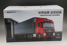 Futian Auman  Trailer and Flatbed trailer carriage alloy truck model (L)
