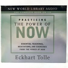 Practicing the Power of Now by Eckhart Tolle Audiobook CDs Meditation