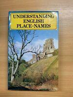 "1978 ""UNDERSTANDING ENGLISH PLACE-NAMES"" ILLUSTRATED HISTORY HARDBACK BOOK"
