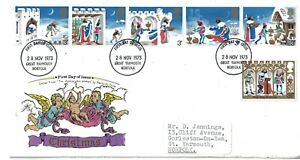 RARE Christmas 1973 'The Apocalyptic Woman' Albrecht Durer FDC First Day Cover