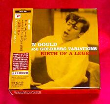 Glenn Gould 1955 Goldberg Variations Birth Of A Legend JAPAN CD BOX SIGC-204