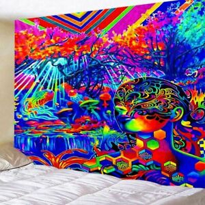 Psychedelic Tapestry Wall For Home Art Decor Living Room Bedroom Large Size