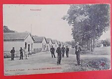 CARTE POSTALE ANCIENNE  DATEE 1907.    VINCENNES , CAMP DE SAINT MAUR