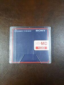 Sony Hi-MD MiniDisc 1GB New Sealed
