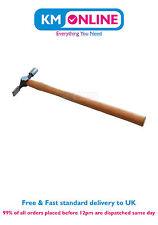 Tradicional Madera Eje con forjado Cabeza 33cm pin martillo, Herramienta Mano /