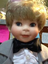 Handsome Groom Doll-Porcelain-rw