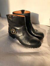 Marc Jacobs MBMJ Classic Ankle Boots Size 39 $398 Black Leather
