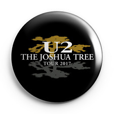 "U2 - The Joshua Tree 2017 Tour - 25mm (1"") Pin Button Badge - Band - Concert"
