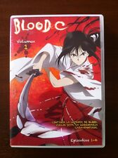 BLOOD C VOL 1 - 1 DVD - CAPITULOS 1 A 4 - SELECTA VISION - 100 MINUTOS - CLAMP