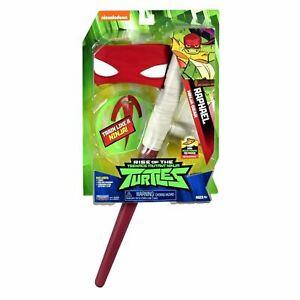RAPHAEL NINJA GEAR Rise of the Teenage Mutant Ninja Turtles TMNT Playset Toy