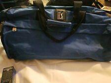 """Vtg PGA Tour Golf Duffle Bag Blue Nylon Gym Luggae 21"""" Long"""