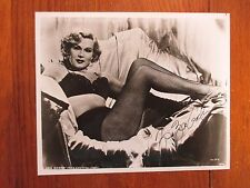 "ZSA  ZSA GABOR(Died-2016)(Lili/""Moulin Rouge"")Signed 8 x 10 Black & White  Photo"